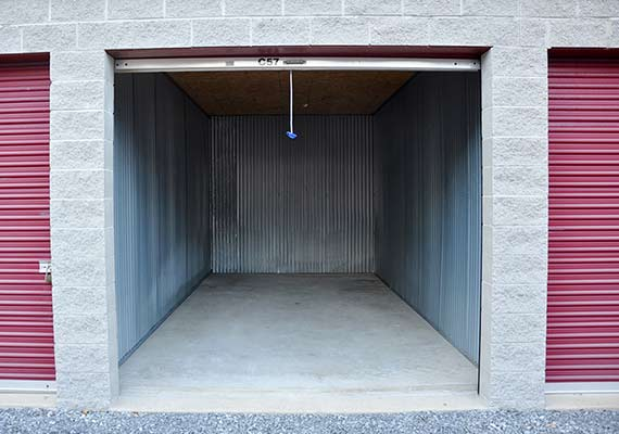 We offer a wide variety of storage unit sizes, for all your storage needs
